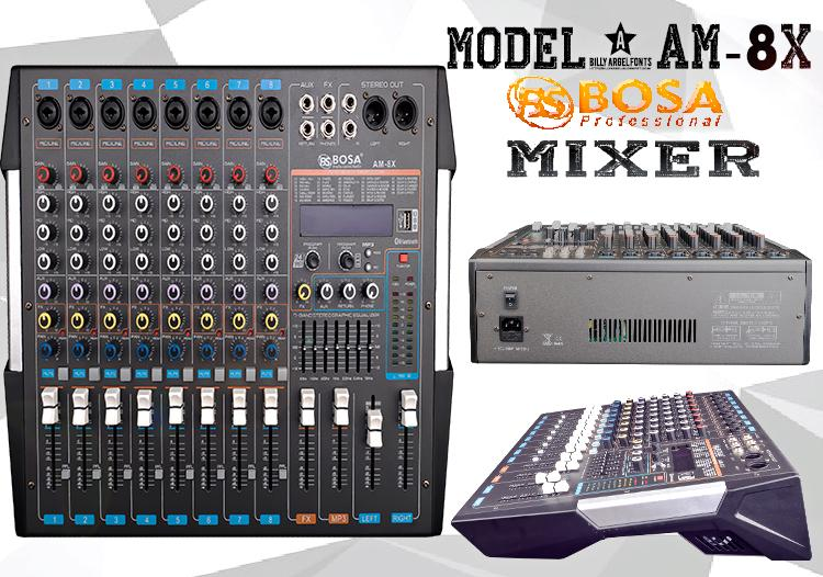MIXER BOSA AM8X